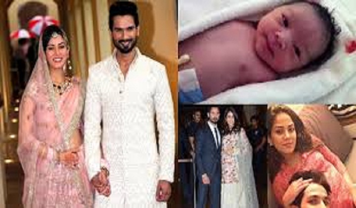 Shahid Kapoor, Mira Rajput Kapoor blessed with baby girl