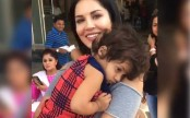 When a little kid hugged Sunny Leone and refused to let go
