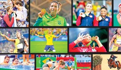 16 magic moments from Rio Olympics