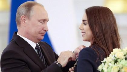 Olympic gold winner Margarita's father passes away