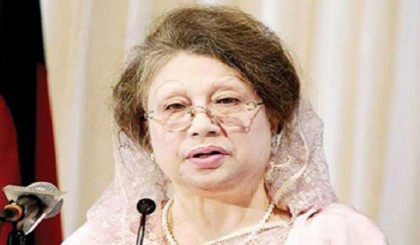 PM indulging in 'anti-state activities' over Rampal, alleges Khaleda Zia