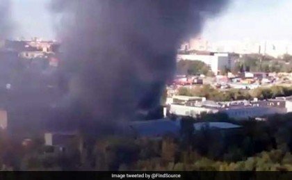 16 Kyrgyz workers killed in Russian printing plant fire