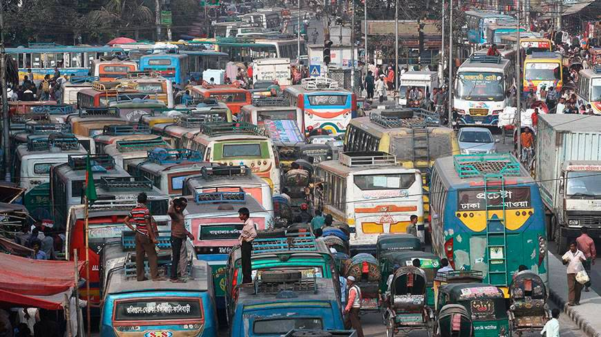 dhaka city traffic jam Traffic jam research report bangladesh reasons behind traffic jam in dhaka city (a) city lay-out (master plan) and over-population: the causes of traffic congestion in dhaka city are multifarious.