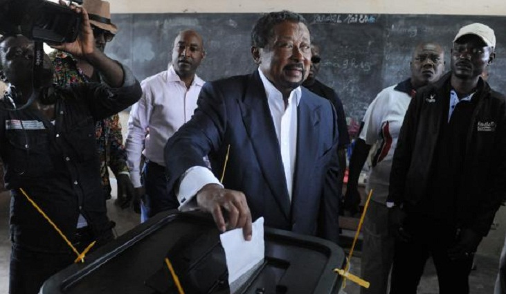 Rivals claim victory in Gabon election