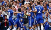 Chelsea take lead, ManU second