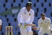 Quinton de Kock, Stephen Cook lay solid foundation, others build for South Africa