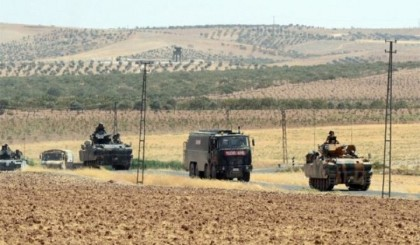 First Turkish death in Syrian campaign