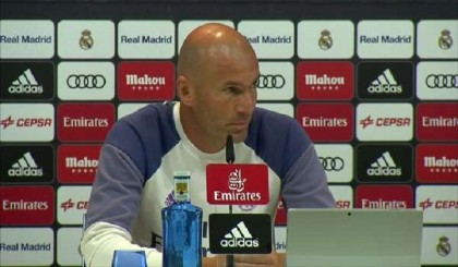 Zidane expects Rodriguez to remain at Madrid
