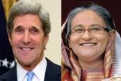 Kerry calls on PM Hasina