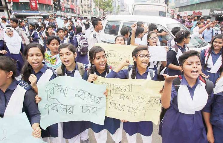 Risha killing: Students threaten to go on tougher movement