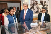 Kerry moved by Bangabandhu's 'simplicity of life style'