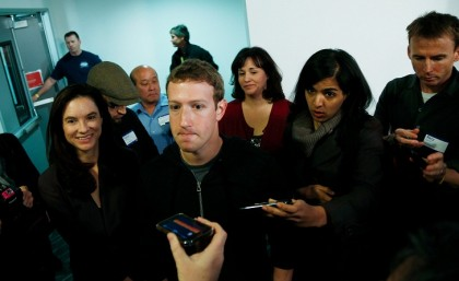 Zuckerberg says Facebook is not a media company, but it might be too late
