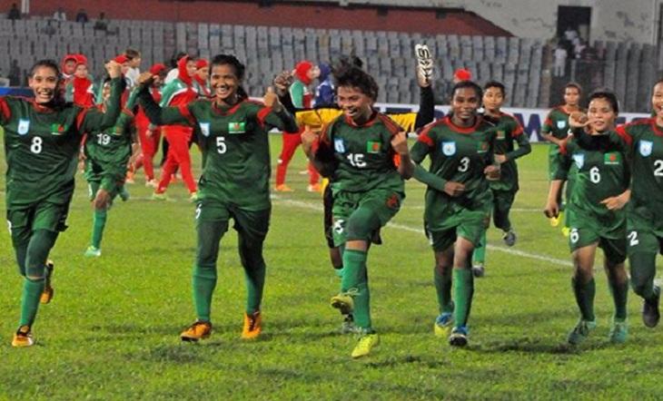 Bangladesh maul Kyrgyzstan 10-0 in AFC U-19 Women's Football