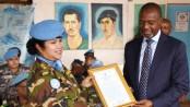 Army Colonel Nazma gets UN special award