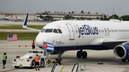 Landmark US commercial flight lands in Cuba