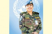 Col Nazma gets spl award as 1st female chief of UN peacekeeping team
