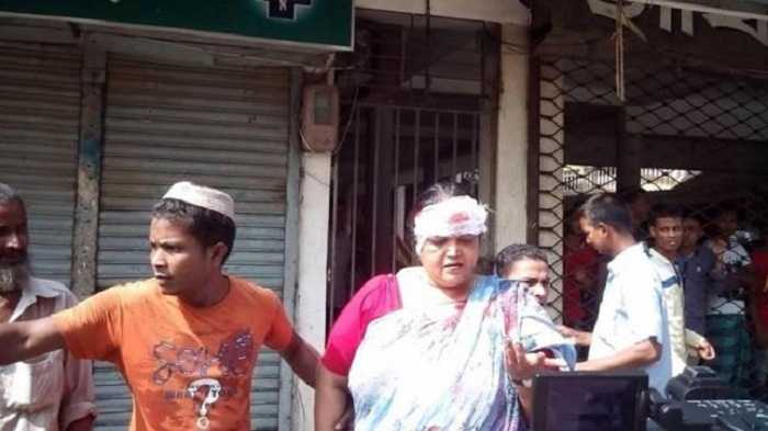 Sylhet Hindu temple attacked, 7 injured