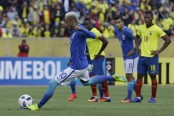 Neymar, Gabriel Jesus team up as Brazil beats Ecuador 3-0