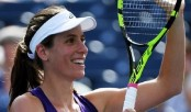Konta powers into US Open fourth round