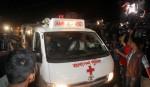 Three ambulances enter Kashimpur Jail