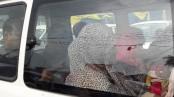 Family members meet Mir Quasem at Kashimpur jail