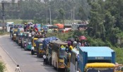Gridlock in Dhaka-Ctg highway