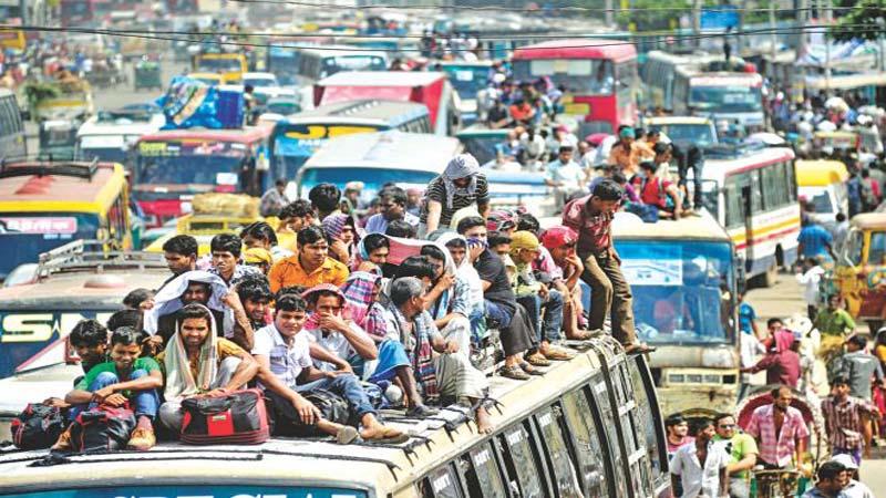 Essay traffic jam in dhaka city