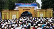 Main Eid congregation at National Eidgah, 400 Eid congregations in city