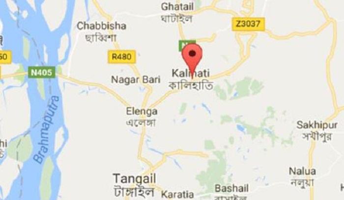 Two Killed In Tangail Road Crash Dailysuncom - Tangail map