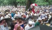 Eid Jamaat held at Sholakia