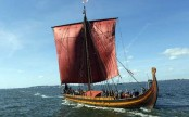 World's largest Viking Ship docks in New York City