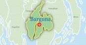 Barguna transport workers go on strike