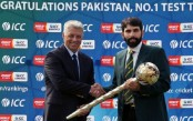 ICC chief presents Test Championship mace to Misbah-ul-Haq