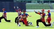 Afghan team gets VIP security during practice session