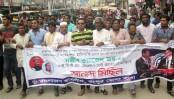 BCL brings out joyous procession to greet Sajeeb Wazed
