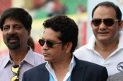 Former India captains felicitated to mark India's historic 500th test