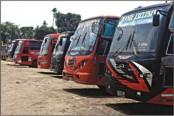 Indefinite transport strike underway in Sylhet