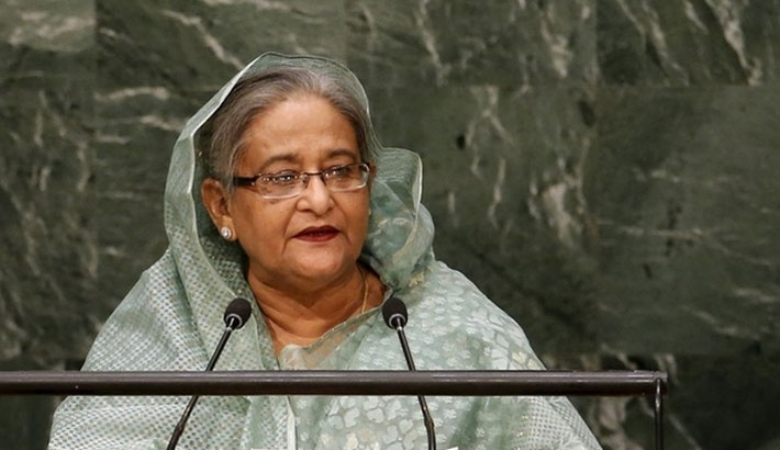 Hasina urges global stakeholders to make pledged support on business