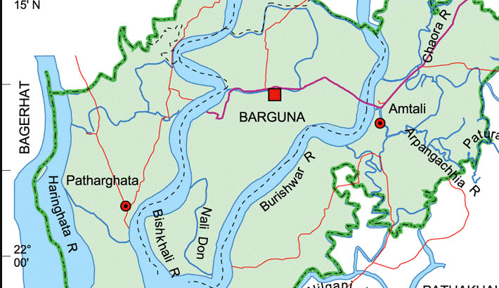 Dearth of food sickens wildlife in Barguna