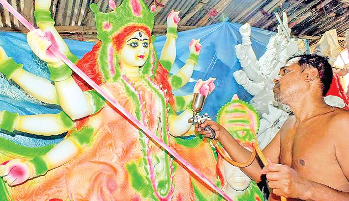 Durga Puja comes off