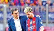 Messi out for three weeks as Atletico hold Barca