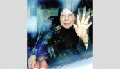 Khaleda returns home