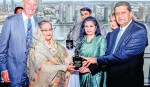 PM receives Planet 50-50 Champion, Agent of Change awards