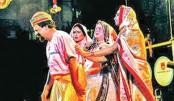 Sonai Madhab staged at Shilpakala