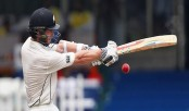 Black Caps control first session of second day