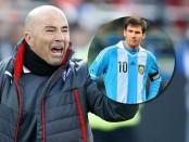 Sevilla coach Sampaoli slams Barcelona's Messi treatment