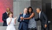 Friendship of George W. Bush and Michelle Obama