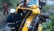 Bandarban truck plunge leaves 2 dead