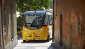 Driver-less bus gets into fender bender in Switzerland