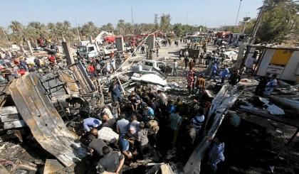 Suicide bomber kills 6 in Iraq